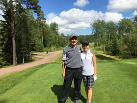 john and jani hirsala gc helsinki 1