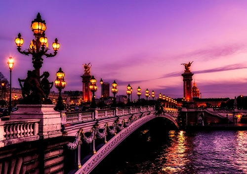 Paris France Bridge