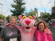 joy hammer and janica mierzwiak race for the cure 2016