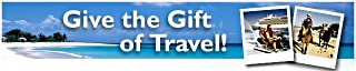give the gift of travel banner